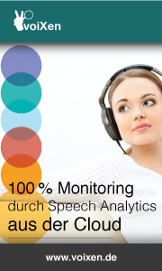 voiXen Speech Analytics aus der Cloud